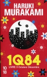 1Q84, haruki murakami, littérature japonaise, roman, science fiction, fantastique