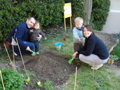 jardins, nature, printemps, jardiniers, découverte