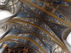 Albi, Sainte Cécile, architecture XIV siècle, art, peinture, fresques