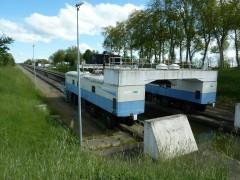 écluses, navigation fluviale, pente d'eau de Montech