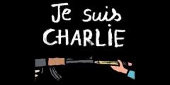 Charlie hebdo, attentat, combat, réflexions, rire vainqueur