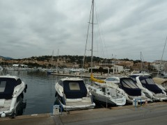 sainte maxime, photos, hiver, gris, mer, nature