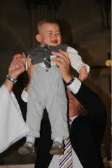 mathis anniversaire, fête de famille, baptême