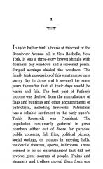 note de lecture, catégorie ebooks, roman E L Doctorow, littérature américaine
