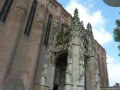 Albi, sainte Cécile, architecture gothique tardive,