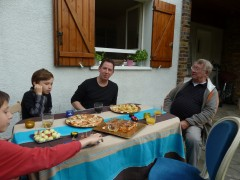 famille, bastien, Axel, Philippe, Conches