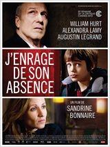 cinéma,j'enrage de son absence, Sandrine Bonnaire, William Hurt, le deuil
