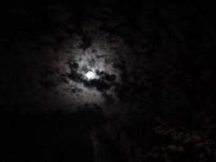été, orage, anodineries,lune