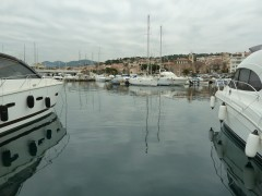 sainte maxime, photos, hiver, gris, nature, mer