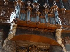 Albi, Sainte cécile, le buffet d'orgues