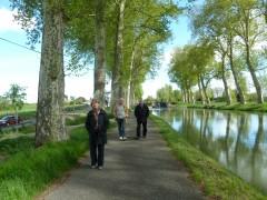 canal du midi, pente d'eau,  Montech, écluses, hydrographie lot