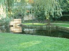 Sèvres, Mathis, jardin de ville, héron